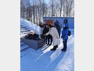 Активистки женского движения ГО Сокольский возложили цветы к вечному огню