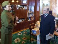 Варнавинские активистки поздравили с юбилеем  ветерана ВОВ