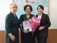 Наградой отмечена Светлана Морозова - активная участница женского движения в Сосновском районе