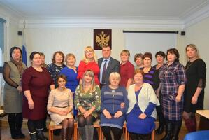 Новый состав Совета женщин Тонкинского муниципального района.  Новый председатель.