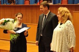 Премия Областного совета женщин вручена маме 14 детей Марианне Алёшаевне Акопян