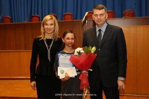 Стипендия Областного совета женщин вручена Даше Ремизовой из г. Заволжья Нижегородской области